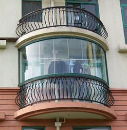 圆弧阳台图片